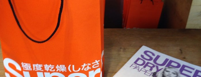 Superdry is one of Top picks for Clothing Stores.