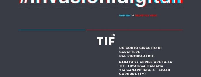 Tipoteca Italiana is one of i diari della Lambretta.