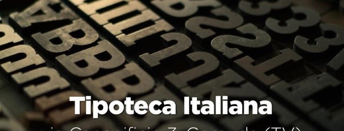 Tipoteca Italiana is one of #invasionidigitali 2013.