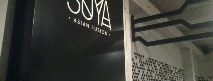 SOYA Asian Fusion is one of Eva 님이 좋아한 장소.