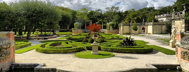 Vizcaya Museum and Gardens is one of TheClau2014.