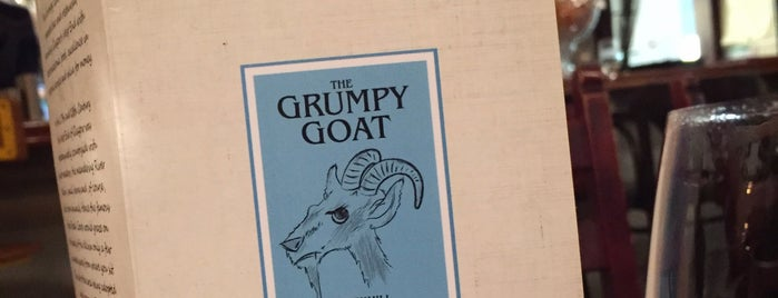 The Grumpy Goat is one of Glasgow!.