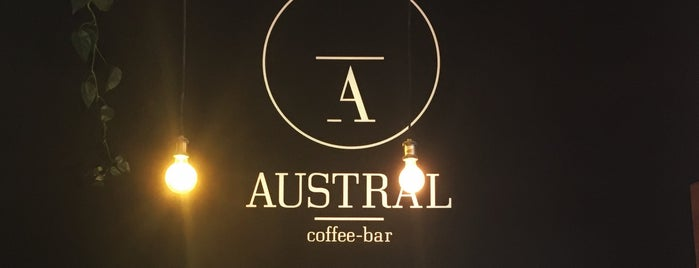 Austral Coffee Bar is one of Lieux qui ont plu à Dat.