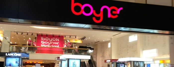 Boyner is one of Celâlさんのお気に入りスポット.