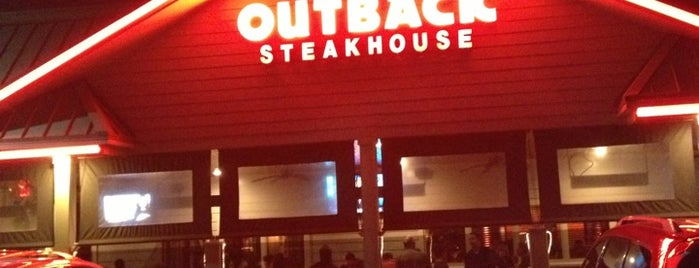 Outback Steakhouse is one of Costa Oeste EUA 2016-10.