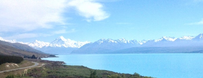Aoraki Mount Cook is one of Trudy's list.