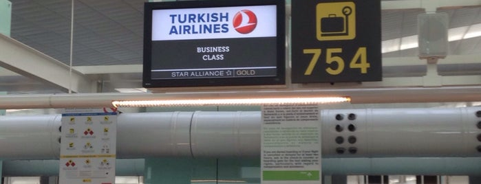 Turkish Airlines Check-in is one of برشلونا.