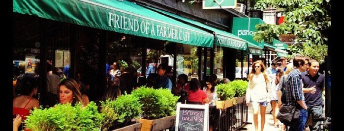 Friend of a Farmer is one of Brunch & Lunch NYC.