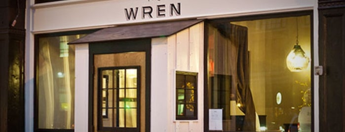 The Wren is one of New York Eats.