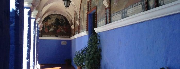 Convento / Monasterio de Santa Catalina is one of Lugares del Extranjero.