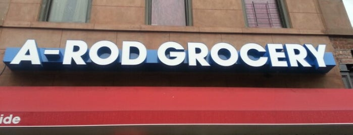 A-Rod Grocery is one of Jason 님이 좋아한 장소.