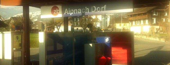 Bahnhof Alpnach is one of schon gemacht 2.