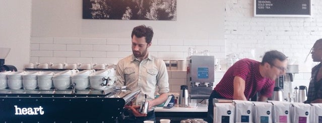 Heart Coffee is one of Lieux qui ont plu à Cusp25.