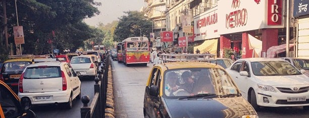 Colaba Causeway is one of T+L's Definitive Guide to Mumbai.