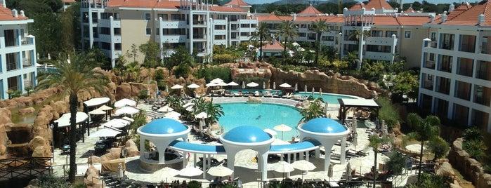 Hilton Vilamoura As Cascatas Golf Resort & Spa is one of Europe resorts (Hilton).