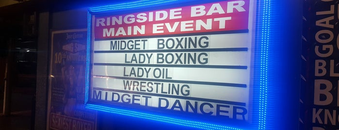 Ringside Bar is one of strip clubs 3 XXX.