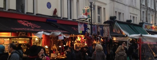 Portobello Road Market is one of Places to Visit in London.
