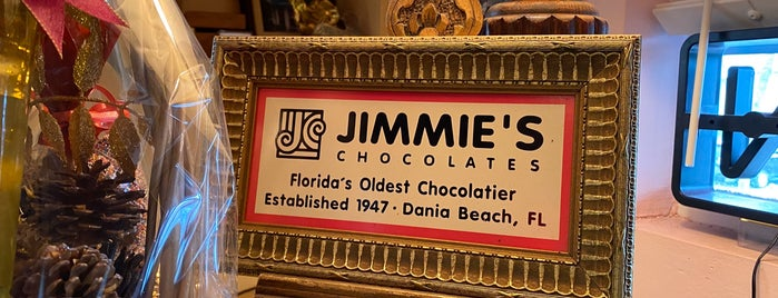 Jimmie's Chocolates is one of New places to try.