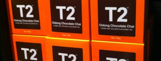 T2 Tea is one of Melbourne.