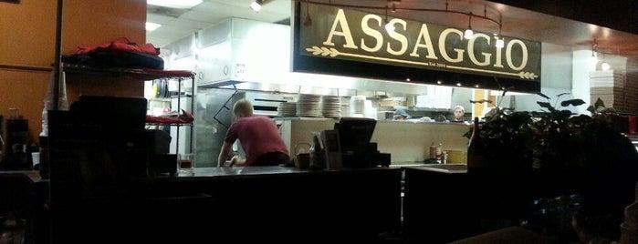 Assaggio's Italian Bistro, Market & Pizzeria is one of Chad'ın Kaydettiği Mekanlar.