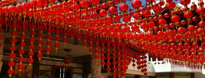 Thean Hou Temple (天后宫) is one of Malaysia.
