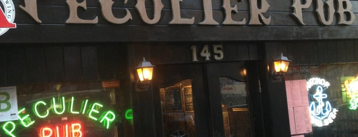 Peculier Pub is one of Places to drink alcohol.