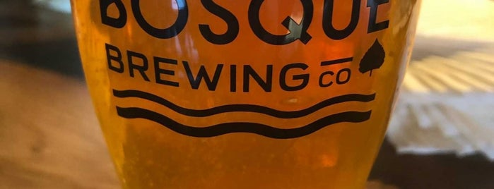 Bosque Brewing Public House is one of Anthonyさんのお気に入りスポット.