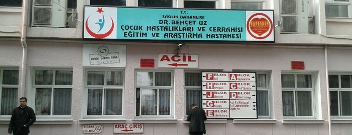 Dr. Behçet Uz Çocuk Hastanesi is one of FIRAT 님이 좋아한 장소.