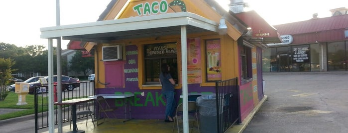 Taco Grande is one of Fast food spots.