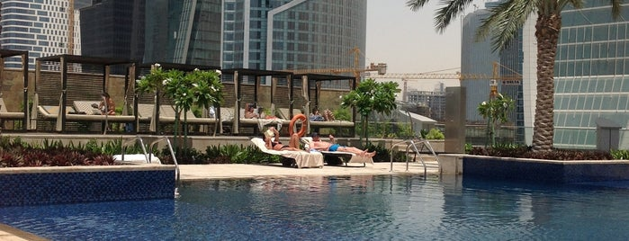 JW Marriott Marquis Pool is one of Summer 2021 Goals 👙💕.