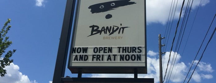 Bandit Brewery is one of Posti salvati di Kittie.