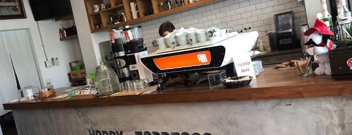 Happy Espresso is one of Lugares favoritos de Andre.