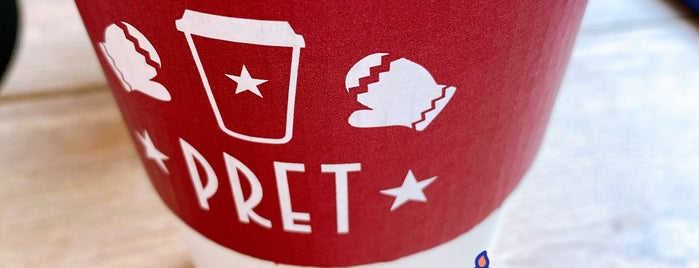 Pret A Manger is one of NYC + boroughs.
