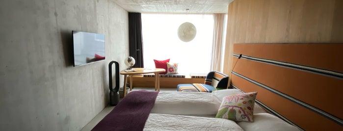 Nomad Hotel is one of Switzerland.