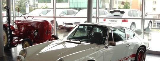 Doğuş Oto Esenyurt Porsche is one of Locais curtidos por Gokhan.