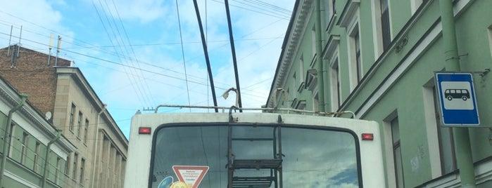 Троллейбус № 17 is one of Питер.