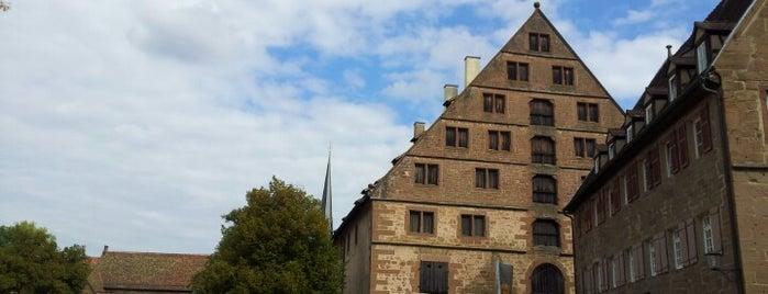 Kloster Maulbronn is one of 100 обекта - Германия.