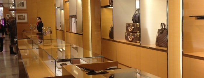 Louis Vuitton is one of Paris Shopping Guide.