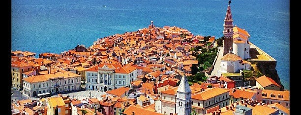 Piran / Pirano is one of Top Locations rund um Triest (ca. 50 km) SLO, ITA.