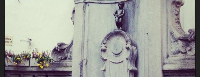 Manneken Pis is one of Belgian Highlights!.