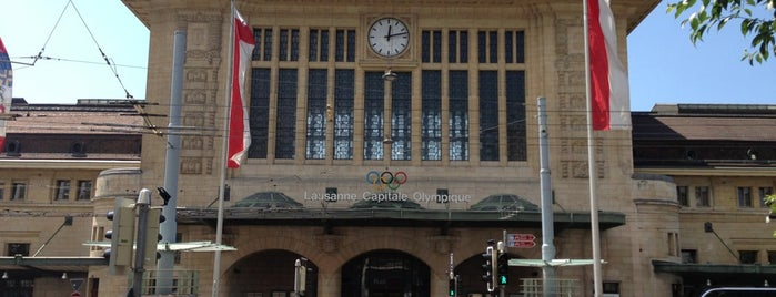 Gare de Lausanne is one of schon gemacht 2.