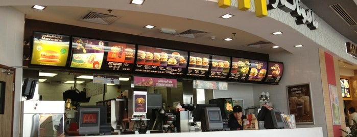 McDonald's is one of Samaher 님이 좋아한 장소.