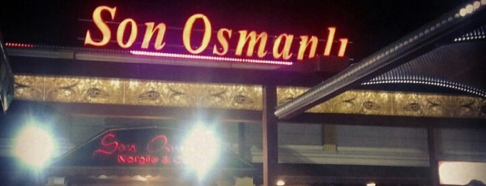 Son Osmanlı Nargile Cafe is one of Locais salvos de Gizemli.