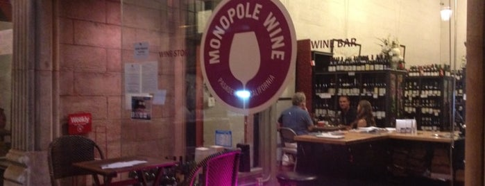 Monopole Wine is one of LA To Do.