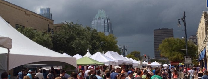 Pecan Street Festival is one of Austin [Attractions]: Been Here.