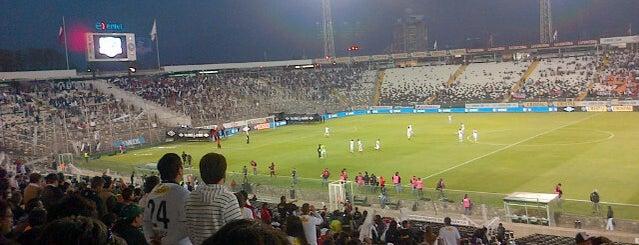 Estadio Monumental David Arellano is one of Santiago.