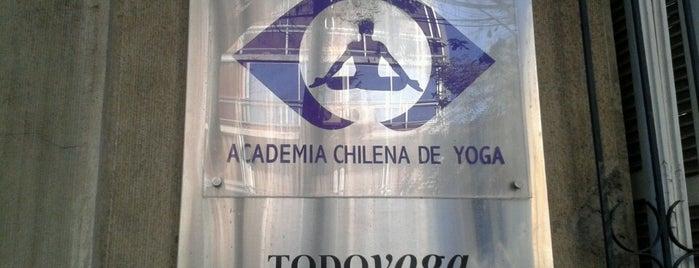 Academia Chilena de Yoga is one of Lieux qui ont plu à Ani.