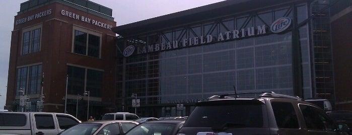 Lambeau Field Atrium is one of Green Bay Area.