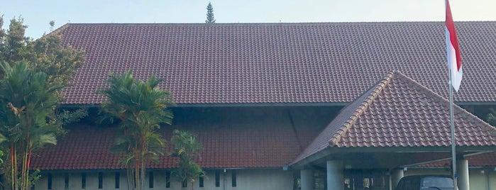 Pusat Studi Jepang is one of Orte, die Arie gefallen.