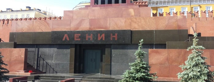 Lenin's Mausoleum is one of Moscow.